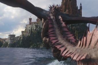 Drogon flies to King's Landing