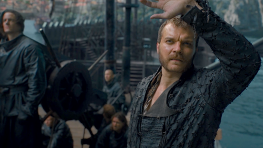 Euron Greyjoy looks to the sky