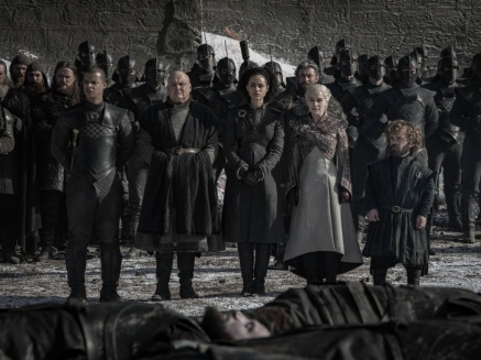 funeral 2 Game of Thrones The Last of the Starks