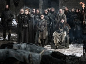 funeral Game of Thrones S08E04