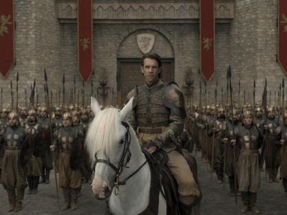 The Golden Company protecting King's Landing