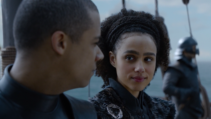 Greyworm Missandei Game of Thrones The Last of the Starks
