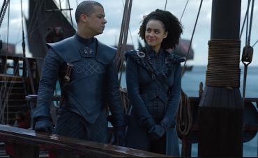 Greyworm Missandei ship Game of Thrones The Last of the Starks