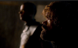 Greyworm and Tyrion Lannister