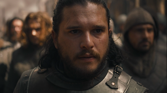 Jon Snow faces the Lannister army