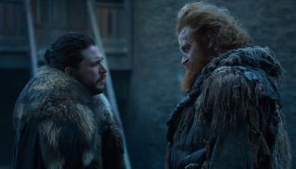 Jon Snow Tormund Game of Thrones The Last of the Starks