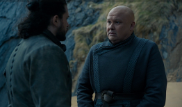 "Varys tells Jon, ""They say every time a Targaryen is born the gods toss a coin and the world holds its breath."""