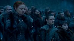 Sansa Arya Bran Stark Game of Thrones The Last of the Starks