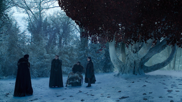 Stark godswood Game of Thrones The Last of the Starks