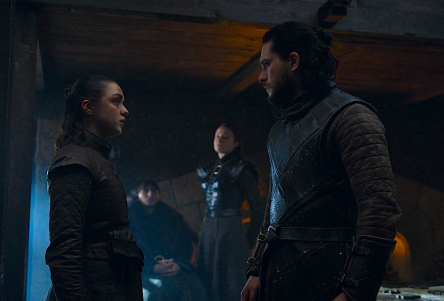 Starks map Game of Thrones The Last of the Starks