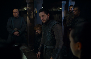War Council Game of Thrones The Last of the Starks