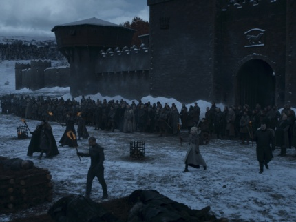 Winterfell Game of Thrones S08E04
